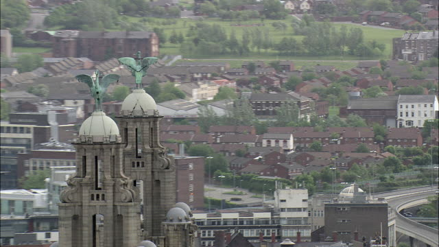 liver birds and the three graces - liver stock videos and b-roll footage