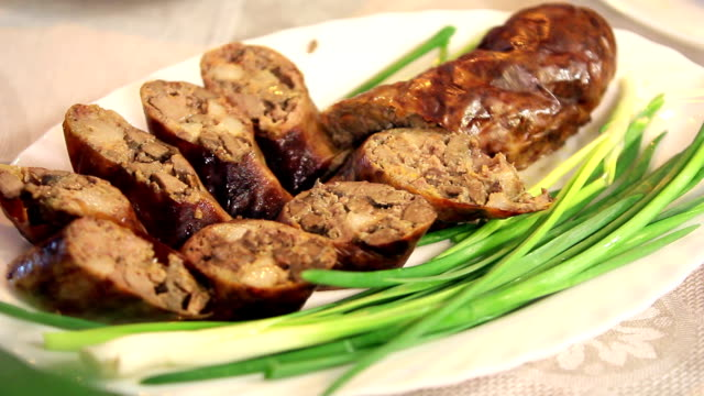 liver sausage - liver stock videos and b-roll footage