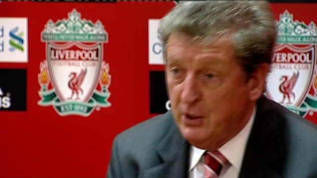 Liverpool FC appoint Roy Hodgson as new Manager Press conference Number one priority is the football team / try to get back into Champions League...