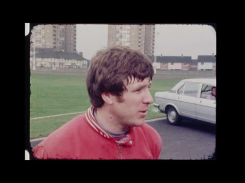 liverpool football team training; england: liverpool: anfield park: ext liverpool player kevin keegan at training session and kicking ball tommy... - goalkeeper stock videos & royalty-free footage