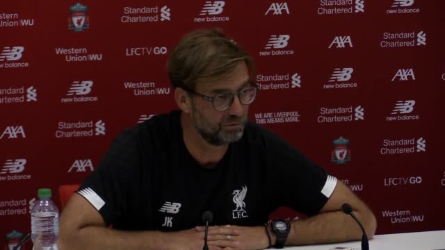 liverpool manager jurgen klopp is still unsure whether goalkeeper alisson will be ready to return to face leicester on saturday the brazil... - international match stock videos & royalty-free footage