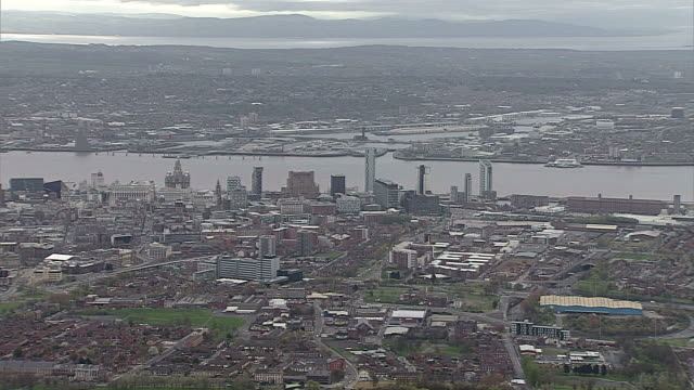 AERIAL Liverpool & River Mersey