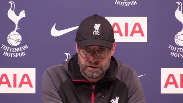 liverpool sent more records tumbling at tottenham as they moved another step closer to the premier league title – but jurgen klopp insists there is... - eventuell stock-videos und b-roll-filmmaterial