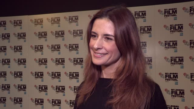 livia firth on sustainability at bfi southbank on october 17, 2013 in london, england - bfi southbank stock videos & royalty-free footage