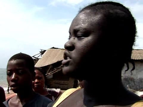 Living and fishing on the fringe of Liberia's Atlantic coast is a risky business In the town of Buchanan homes and livelihoods are being devoured by...