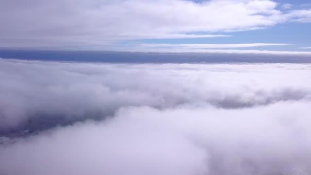 vivere la vita sul cloud nove - fuggire video stock e b–roll