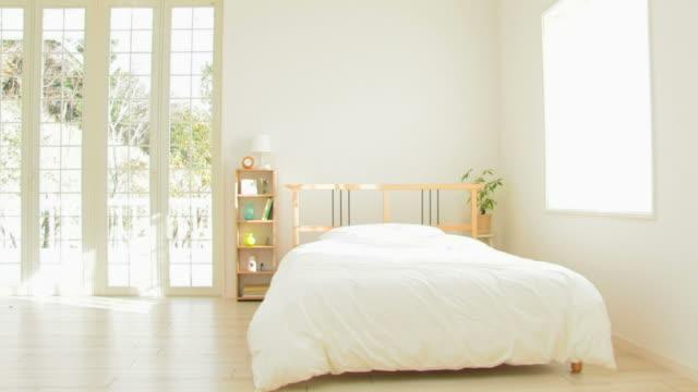 pan living room - 寝室点の映像素材/bロール