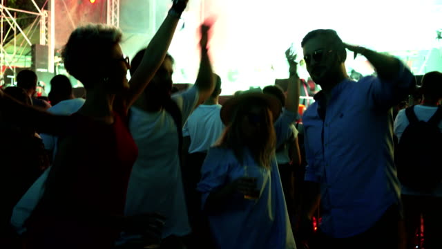 living the festival life with friends - lightship stock videos & royalty-free footage