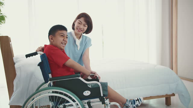 living with disabilities - community care stock videos & royalty-free footage