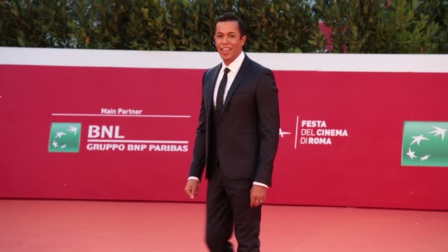 """livio beshir attends the red carpet of the movie """"borat"""" during the 15th rome film festival on october 23, 2020 in rome, italy. - borat sagdiyev stock videos & royalty-free footage"""