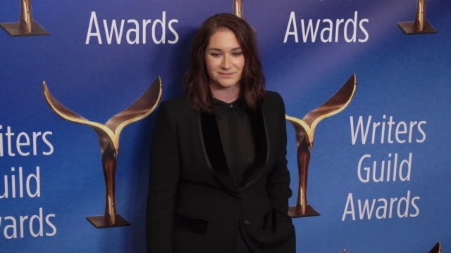 liz hannah at the 2020 writers guild awards at the beverly hilton hotel on february 01, 2020 in beverly hills, california. - the beverly hilton hotel stock videos & royalty-free footage