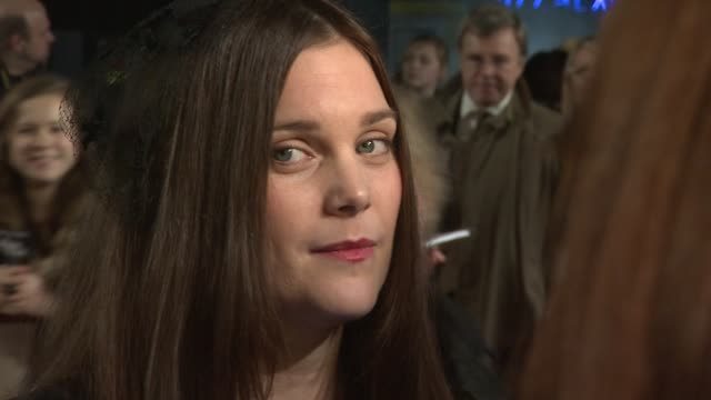 liz white at the woman in black world premiere at the royal festival hall on january 24, 2012 in london, england. - royal festival hall stock videos & royalty-free footage