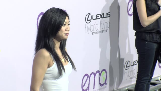 liza lapira at the the 18th annual environmental media awards benefiting the environment at los angeles ca - environmental media awards stock videos & royalty-free footage