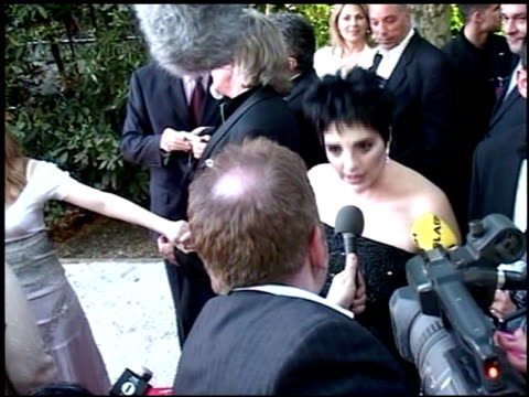 vídeos y material grabado en eventos de stock de liza minnelli at the amfar 'cinema against aids' gala presented by miramax films palisades pictures and quintessentially on may 19 2005 - miramax