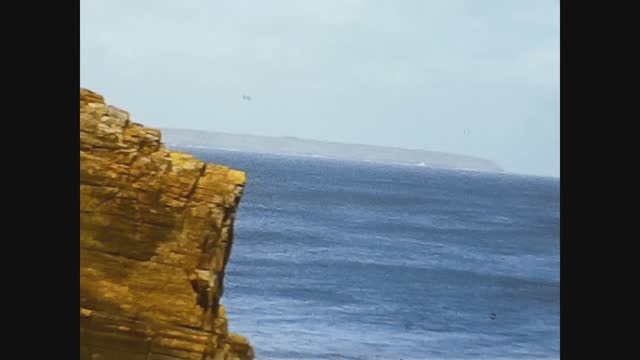 lizard sea view landscape in wales - bay of water stock videos & royalty-free footage