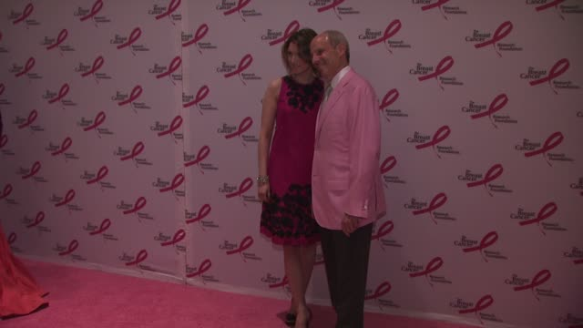 lizzie and jonathan tish at the 2010 breast cancer research foundation's hot pink party arrivals at new york ny - hot pink stock videos and b-roll footage