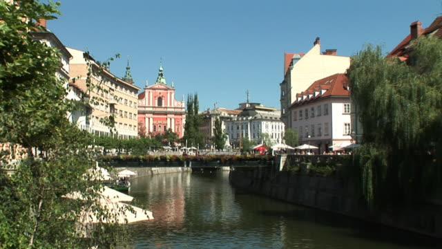 vídeos y material grabado en eventos de stock de hd: liubliana centro de la ciudad - liubliana