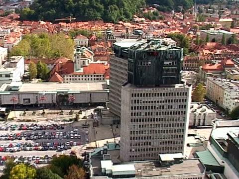Ljubljana vom air