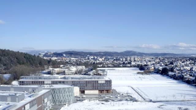 vídeos y material grabado en eventos de stock de ljubljana en el invierno - liubliana