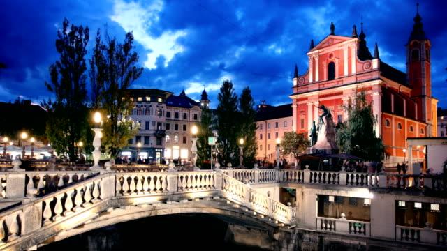 Ljubljana Slovenien Timelapse
