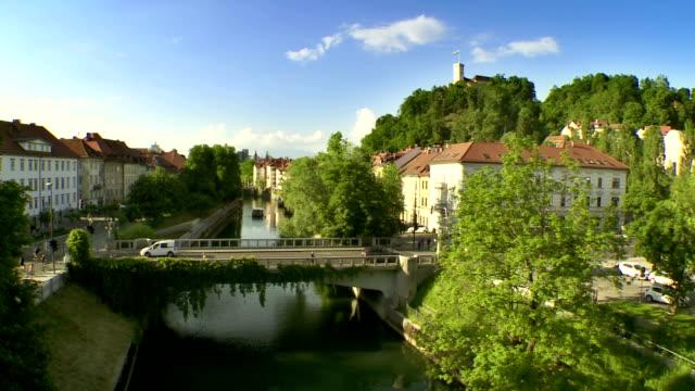 WS Luftaufnahme Fluss Ljubljanica