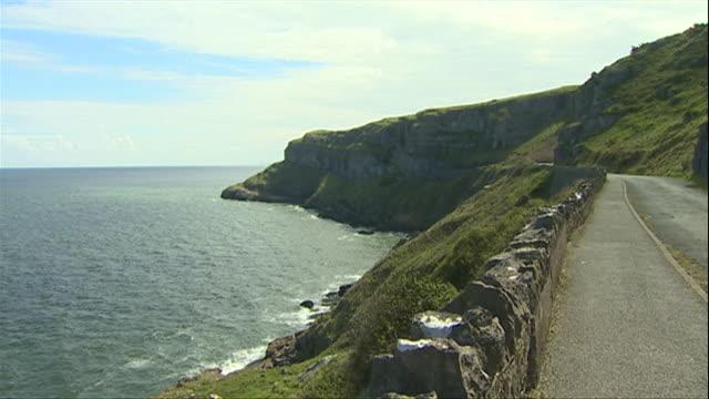 llandudno cliffs and headland - cape stock videos & royalty-free footage