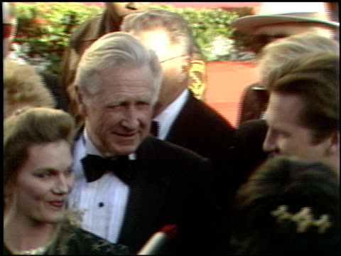 lloyd bridges at the 1989 academy awards at the shrine auditorium in los angeles, california on march 29, 1989. - 61st annual academy awards stock videos & royalty-free footage