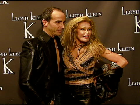Lloyd Klein and Jocelyne Wildenstein at the World Renowned Couturier Lloyd Klein To Open Flagship Retail Store Showroom and Studio in Los Angeles...