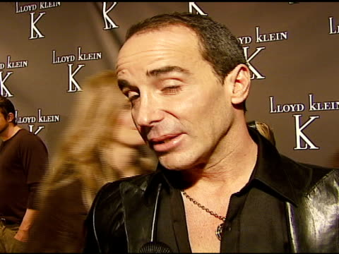 Lloyd Klein Designer on why he opened the new store on why Hollywood likes his designs on who he dresses at the World Renowned Couturier Lloyd Klein...