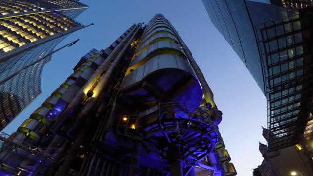 stockvideo's en b-roll-footage met lloyds of london - west europa