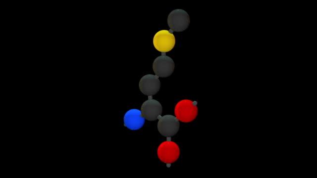 l-methionine (met, m) - rna stock videos & royalty-free footage