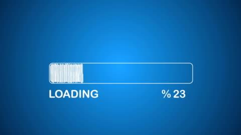 loading bar - lasta bildbanksvideor och videomaterial från bakom kulisserna