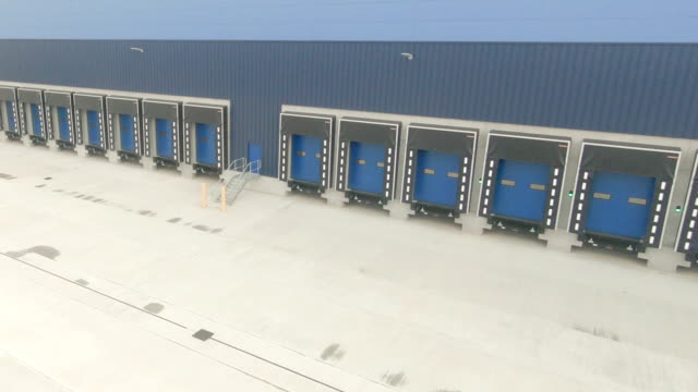 loading docks - sending stock videos & royalty-free footage