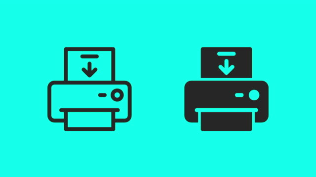 loading paper icons - vector animate - global communications vector stock videos & royalty-free footage
