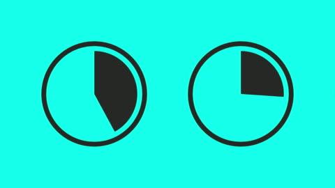 vídeos y material grabado en eventos de stock de carga del círculo de progreso - vector animado - cargar