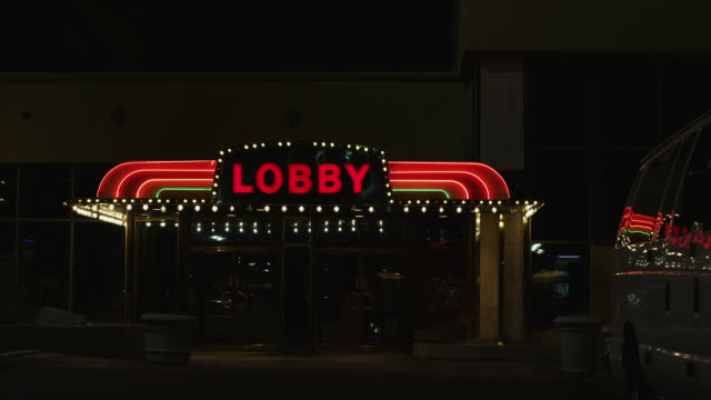 lobby entrance - entrance sign stock videos & royalty-free footage