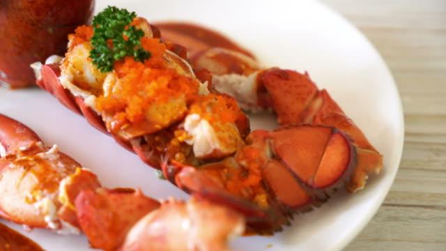 Lobster tail steak