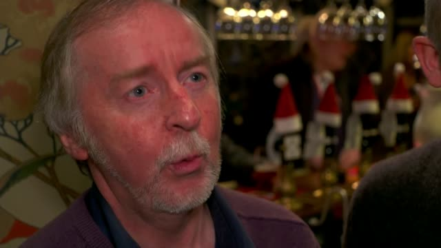 Local community secures reopening of Stockport pub INT Various shots locals renovating pub Rick Clarke interview SOT Various of people drinking in...