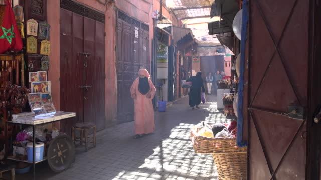 Local Customers walk through market