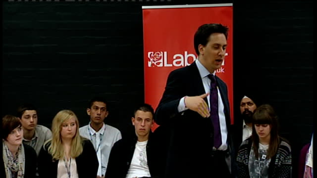 local elections / av referendum: ed miliband answers questions in gravesham; miliband answering questions sot - on tuition fees - we're now about to... - the world's end stock videos & royalty-free footage
