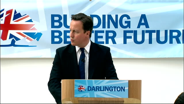 david cameron speech in darlington england county durham darlington int david cameron mp speech sot two of youngest members of house of commons... - darlington north east england stock videos & royalty-free footage