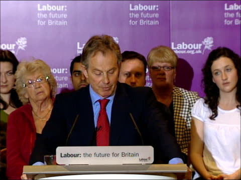 tony blair speech tony blair speech sot continues at cabinet on thursday we had a presentation from patricia hewitt on the nhs / the reforms a whole... - outpatient care stock videos & royalty-free footage
