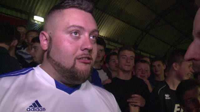 stockvideo's en b-roll-footage met local football clubs like aldershot and woking may be four divisions below englands premiere league but devoted fans heated rivalries and passion for... - aldershot