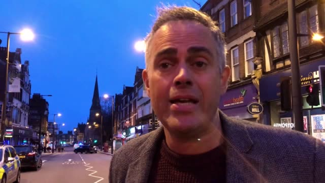 local lambeth councillor and green lamparty coleader jonathan bartley says the community is 'shocked and devastated' by attack he also speculated... - stechen stock-videos und b-roll-filmmaterial