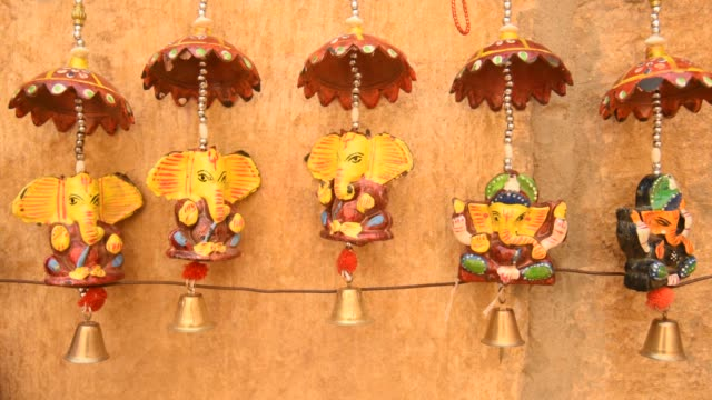 local people making puppets, jaisalmer, india. - craft stock videos & royalty-free footage