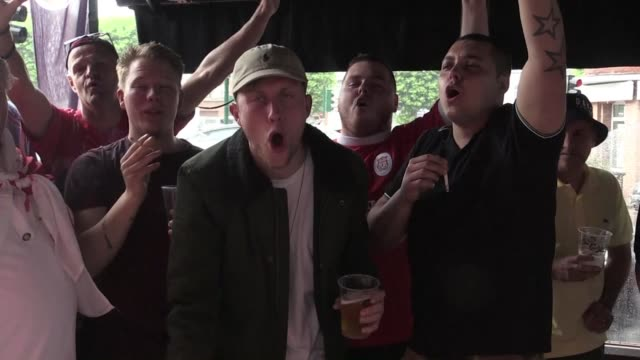 vídeos de stock, filmes e b-roll de local pride is at stake on thursday as an all british clash between england and wales and old rivals germany and poland dominate a euro 2016 day of... - euro 2016