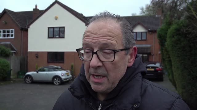 local resident paul kincell explains how the flood waters rose around his home in the worst affected south yorkshire village - village stock videos & royalty-free footage
