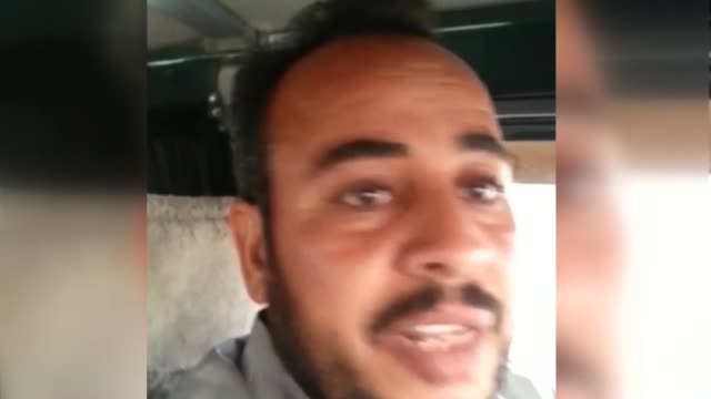 local resident, who gave his name as ahmed al-abdullah jaber, speaks in the video about being mistreated by pkk/pyd terrorists after their capture... - civilian stock videos & royalty-free footage
