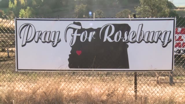 local residents in roseburg voiced different opinions about gun control after the shooting at a community college that left 10 dead with some... - community college stock videos & royalty-free footage