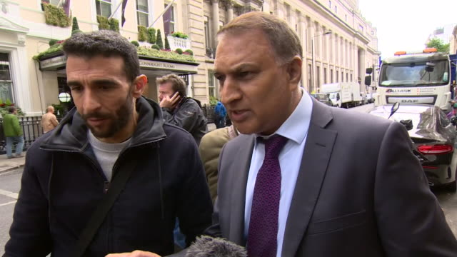 Local solicitor Jhangir Mahmood asking Sir Martin MooreBick to engage and communicate with the Grenfell Tower residents during the official inquest...